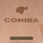 cohiba sublimes extra