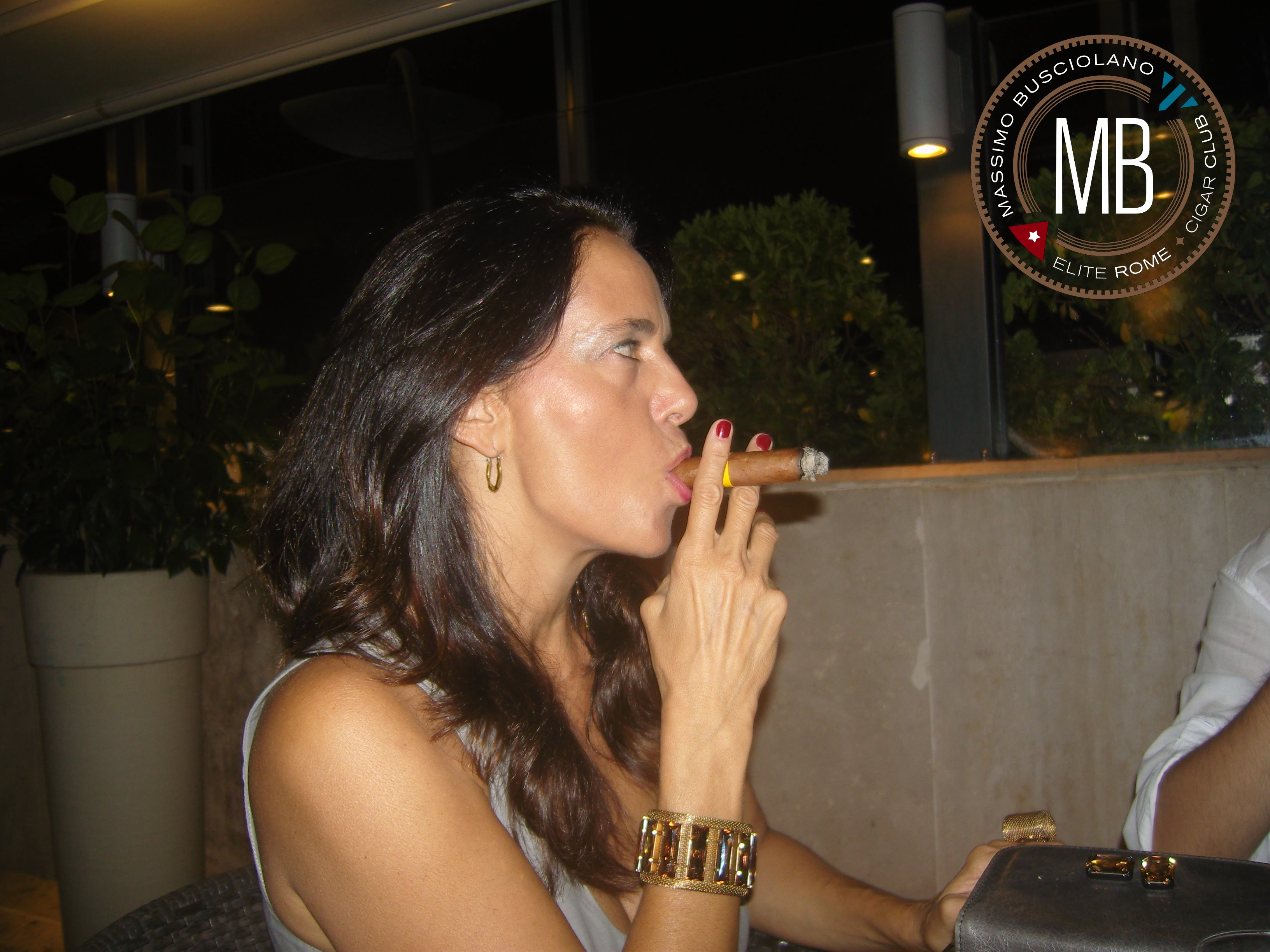 """Women who smoke cigars"""
