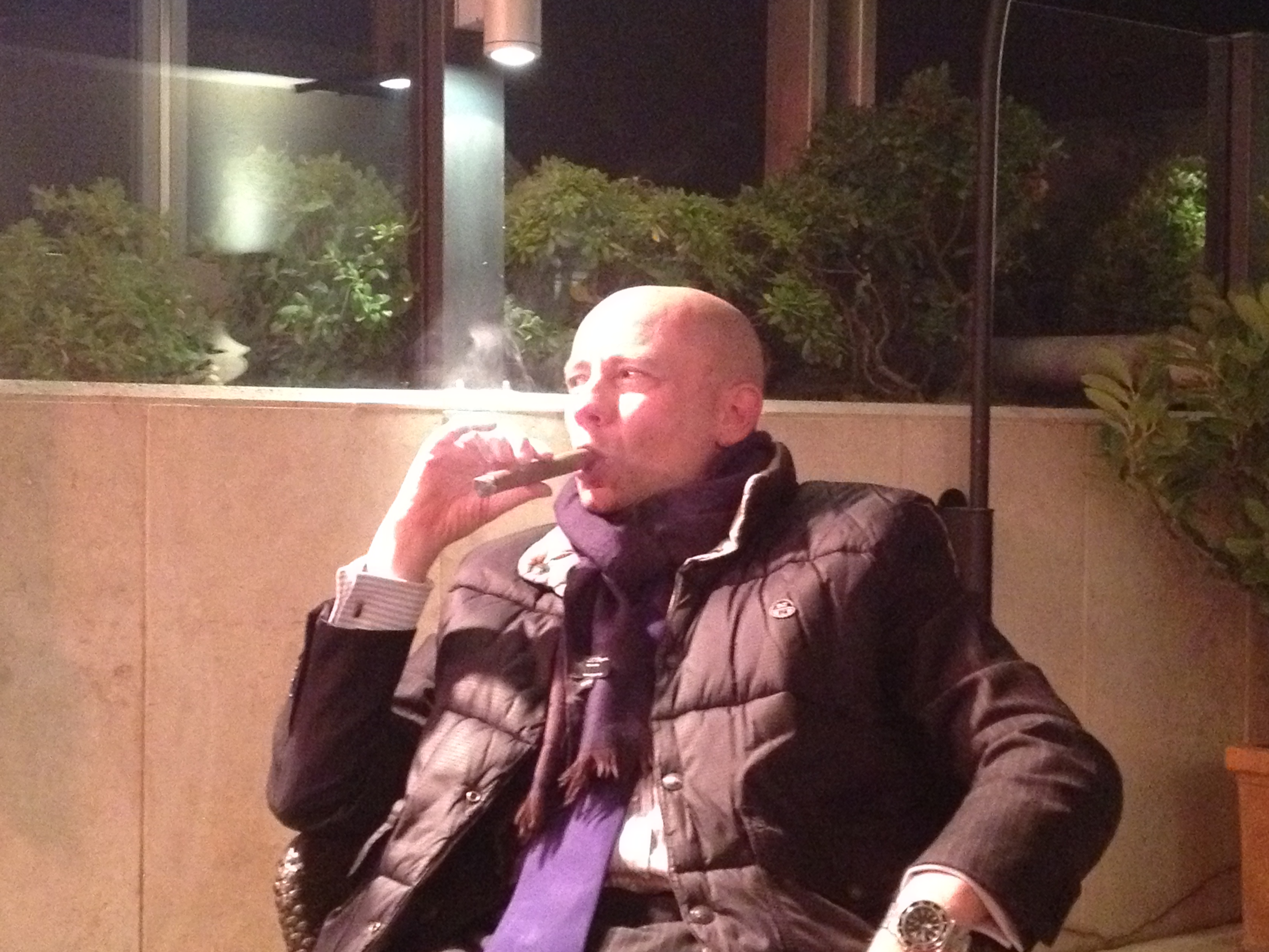 """Cigar Night at Hotel Savoy"""