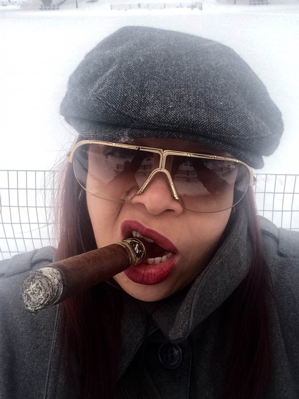 """Frances Martinez Cigar Chaser"""