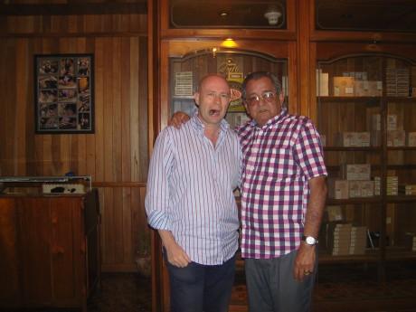 MB & Carlos Robaina