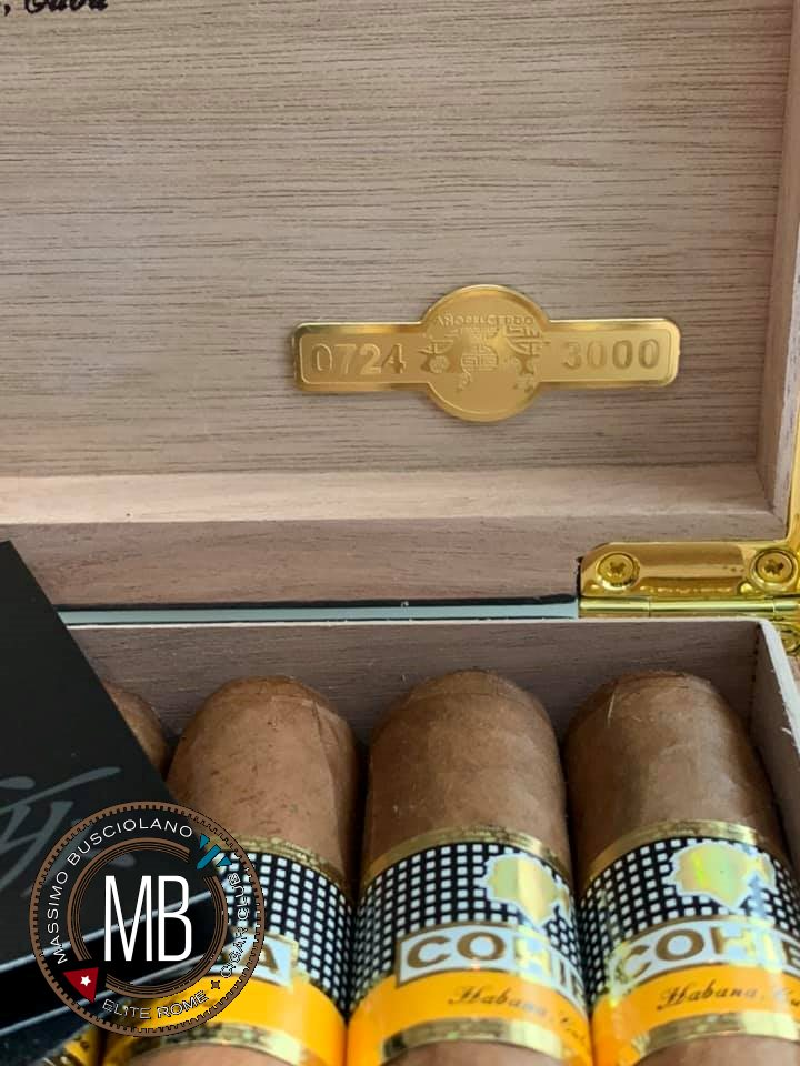 """Cohiba 8+8 Robustos Year of the Pig"""