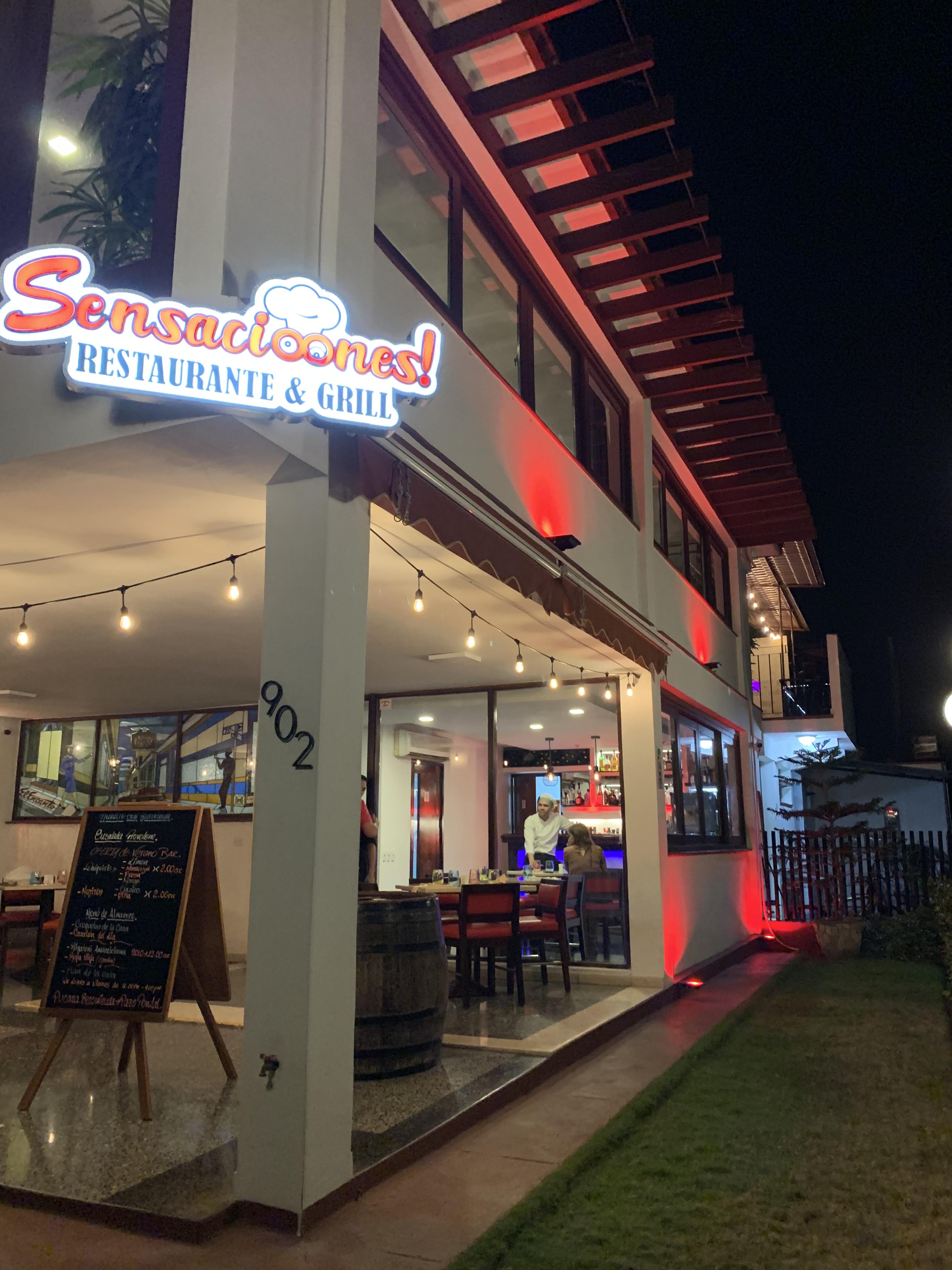 """Restaurante Sensacioones"""