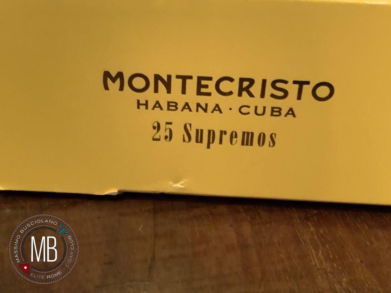 """""""Montecristo Supremos EL2019"""""""